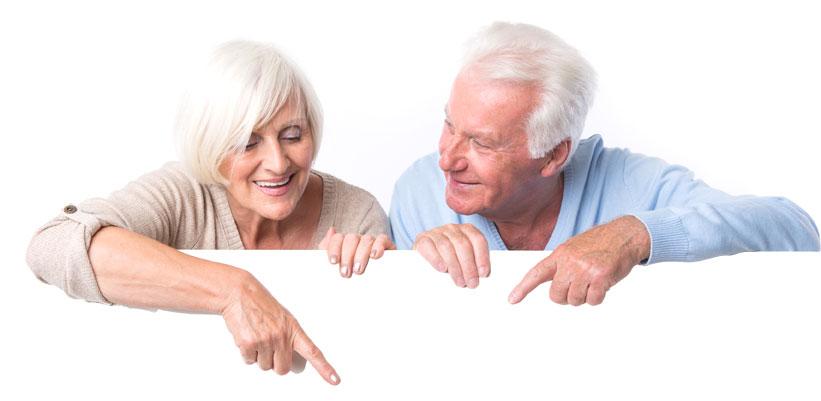 seniorzy w niezapominajce
